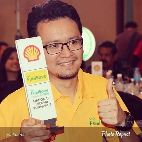 Hafiz Rahim finalist Shell FuelSave Challenge 2014