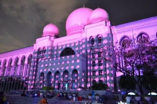 LAMPU Light Of Motion Putrajaya 2014-Istana Kehakiman