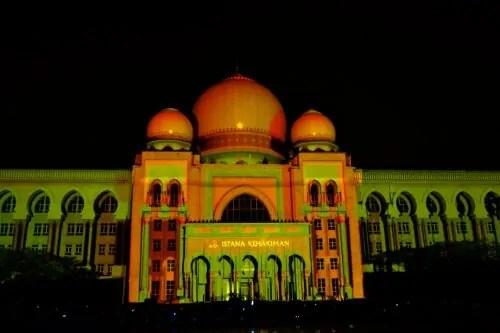 LAMPU Light Of Motion Putrajaya 2014-oren