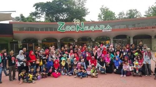 Bloggers Day Zoo Negara Kelab Blogger Ben Ashaari