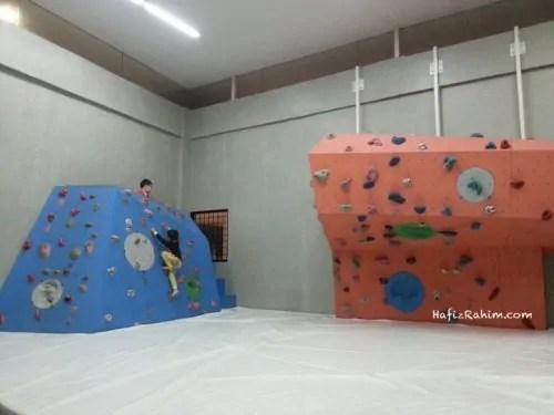 Putrajaya Challenge Park-Wall Climbing