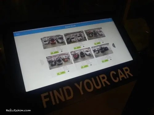 Find Your Car Car Park System Search Result Example