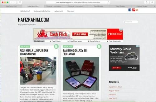 Malaysian Best Blog 2