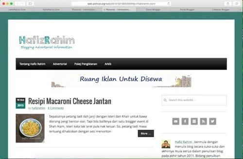 Malaysian Best Blog 4