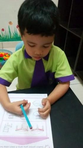 Khair belajar