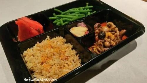 Garlic Fried Rice & Baby Octopus