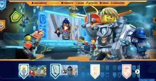 Akademi Nexo Knights_Free Shields