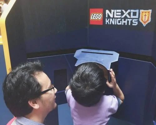 VR-Visual Reality LEGO Nexo Knights