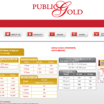 Gold Investment Account Via Public Gold Singapore