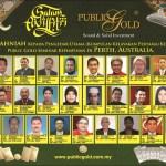 Pencapaian bersama Public Gold