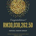 New high Group Sales Record – RM30 juta!