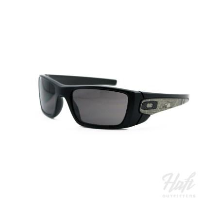 Oakley SI Fuel Cell American Heritage - Matte Black Frame - 3N Warm Grey Lens - SKU: OO9096-C9