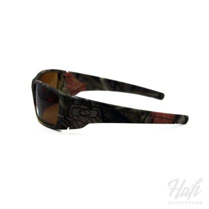 Oakley SI Fuel Cell King's Camo Polarized - Woodland Camo Frame - 2P Bronze Polarized Lens - SKU: OO9096-D9