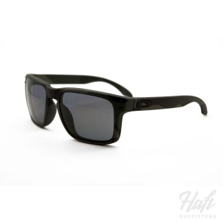 Oakley SI Holbrook MultiCam Black Polarized - MultiCam Black Frame - 3P Grey Polarized Lens - SKU: OO9102-92