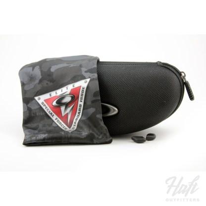 Oakley SI Valve Prizm Shooting - Matte Black Frame - Prizm TR45 Lens - SKU: OO9236-17 Soft Case