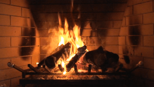 Winter Fireplace app icon