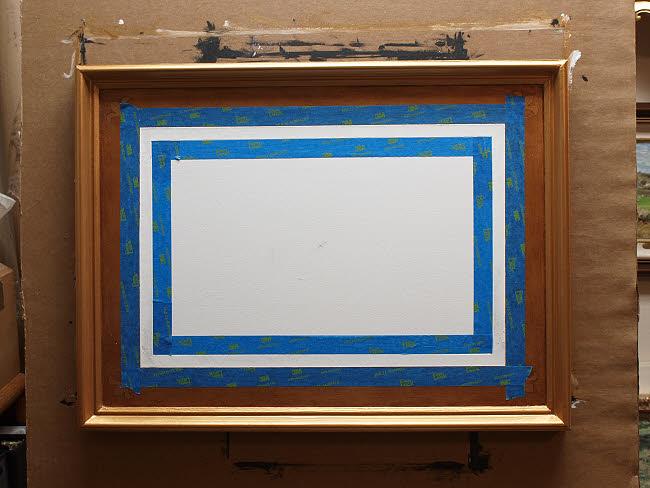 Making a Custom Illusion Frame   Hagerman Art Blog by Artist William ...