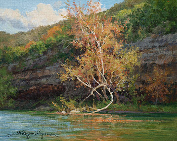 River Elegance Plein Air