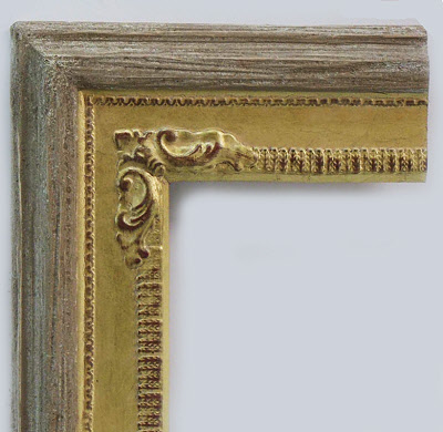 frame corner style of rustic and elegance