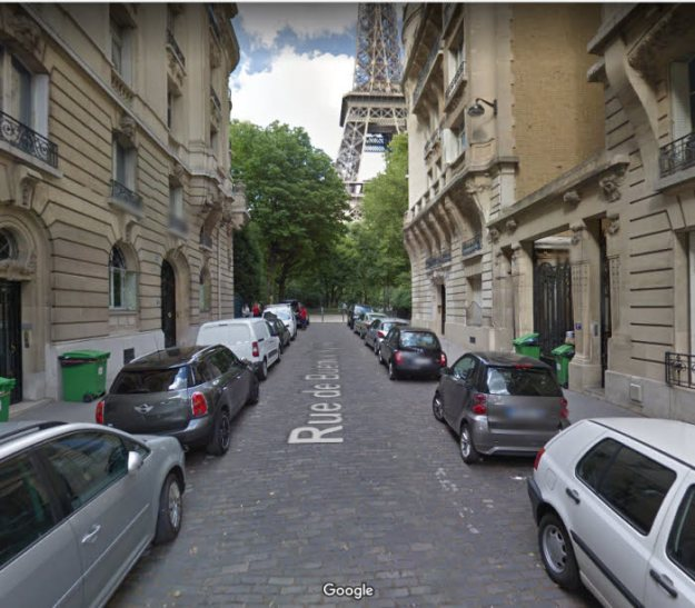 Paris street view