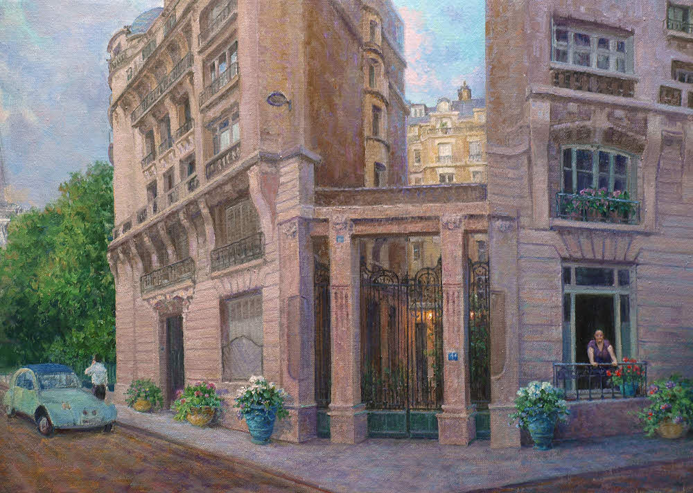 "Exterior: Hagerman Art Blog By Artist William ""Byron"" Hagerman"