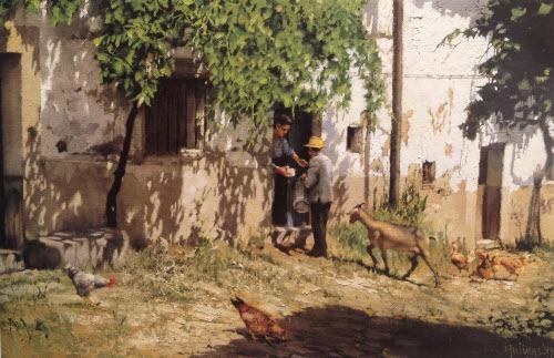Clark Hulings Goat Milk Vendor