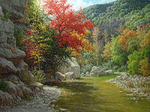 realistic landscape oil painting commissioned art by William Hagerman