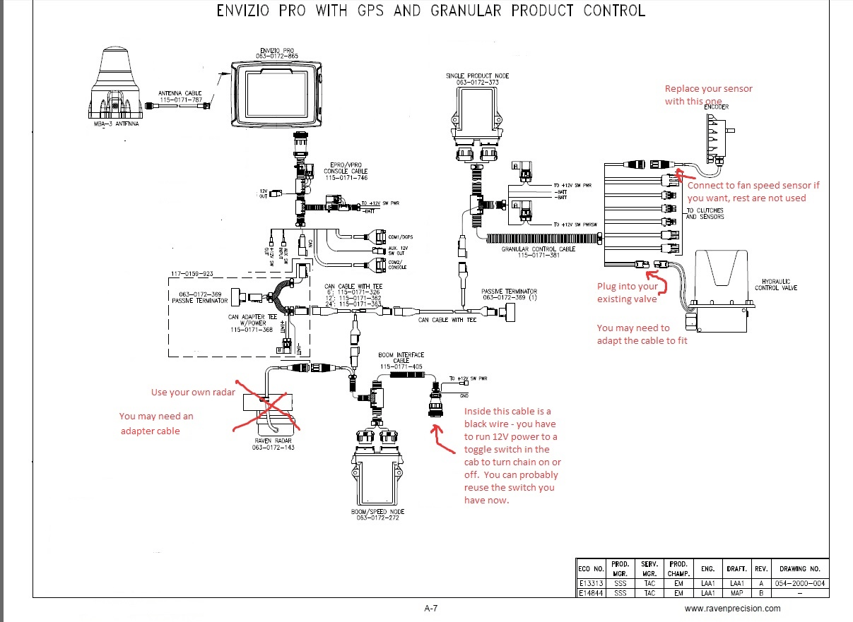 Haggerty Creek Ltd. Wiring Diagrams and Layouts