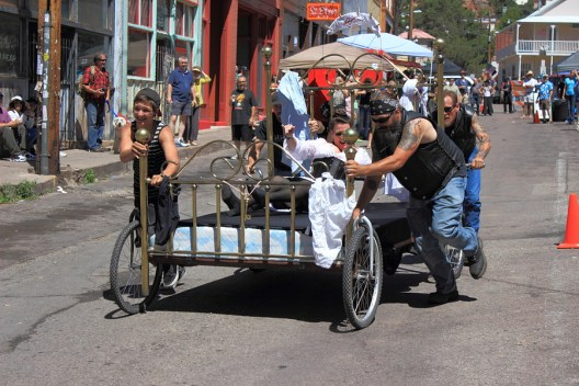 bisbee bed races