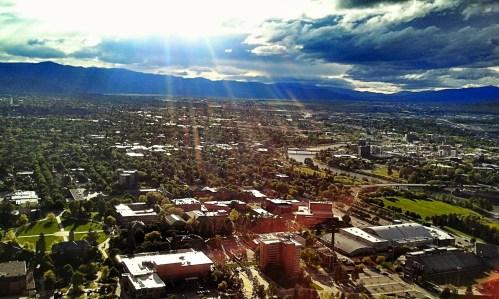 View of Missoula, MT