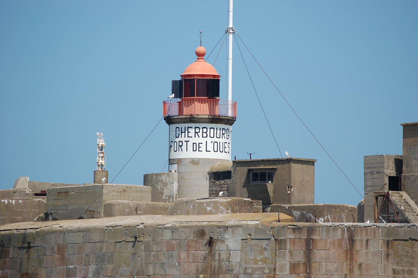 Fort de l'Ouest Rade de Cherbourg