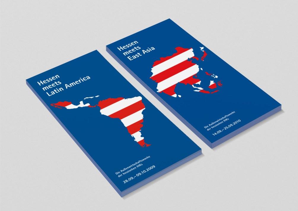 """Einladungen für die Außenwirtschaftswochen """"Hessen meets Latin America"""" und """"Hessen meets East Asia"""""""
