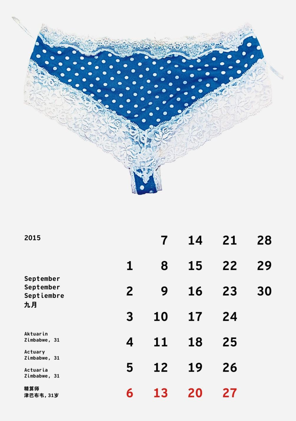 Viersprachiger Kalender