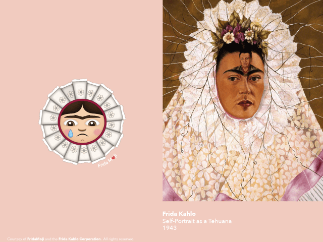 They Left Their Hearts at Casa Azul: How The Frida Kahlo Emojis Came