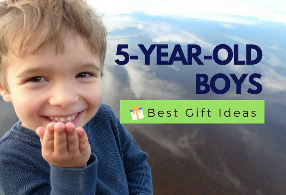 Best Gifts For A 5-Year-Old Boy