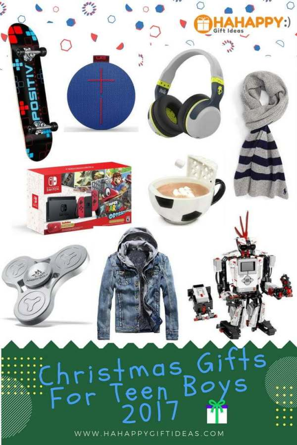 Most Wished Christmas Gift Ideas For Teenage Boys 2017