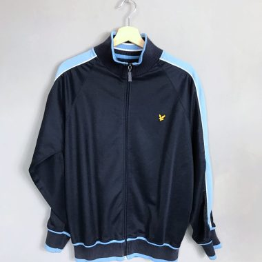 LYLE & SCOTT VINTAGE TRAININGSJACKE blau