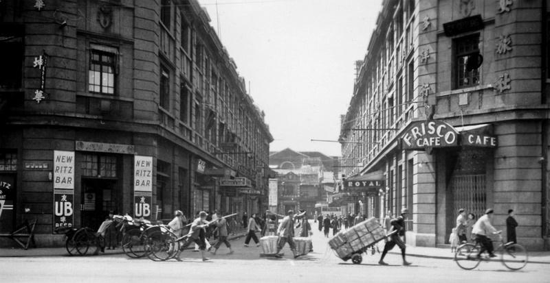 Zenfolio  Thomas H Hahn DocuImages  Bars Tsingtao  Shanghai 1940