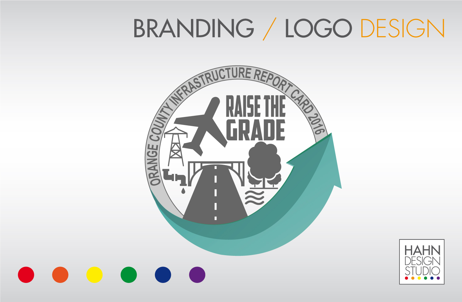 Event Branding / Social Media Coordination | 2016 Orange County Infrastructure Report Card | ASCE Orange County Branch