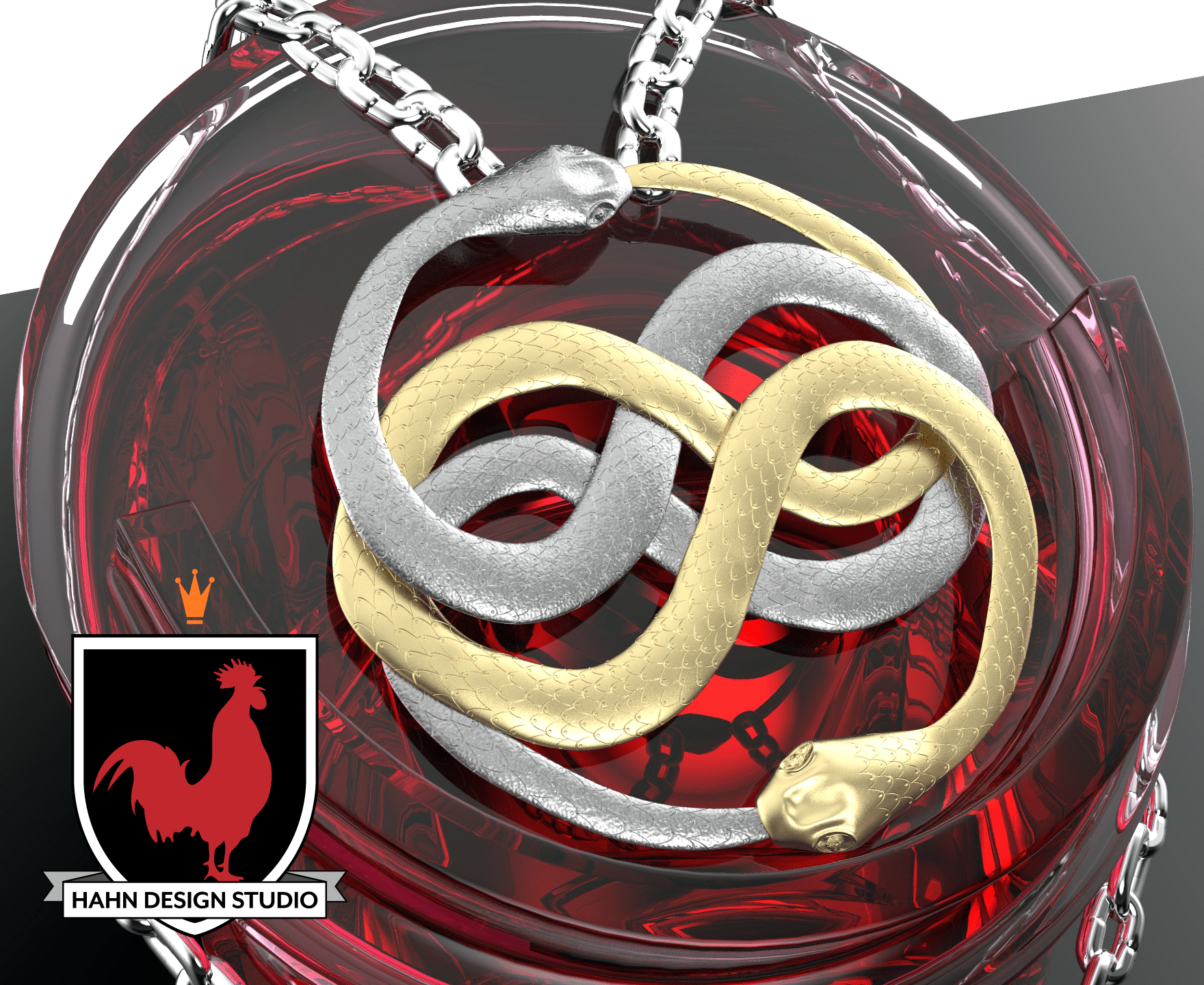 Auryn from The NeverEnding Story | 3D Modeling | Hahn Design Studio