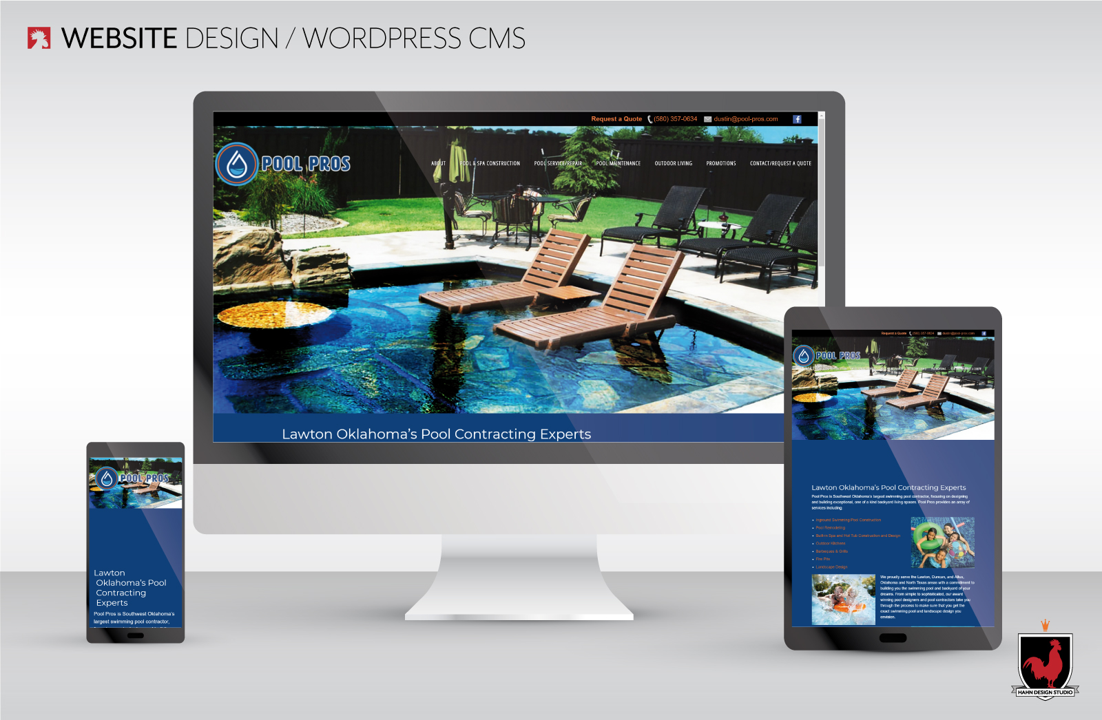 Website Refresh | Pool Pros | Hahn Design Studio, San Marcos, California