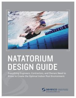 Seresco Natatorium Design Guide