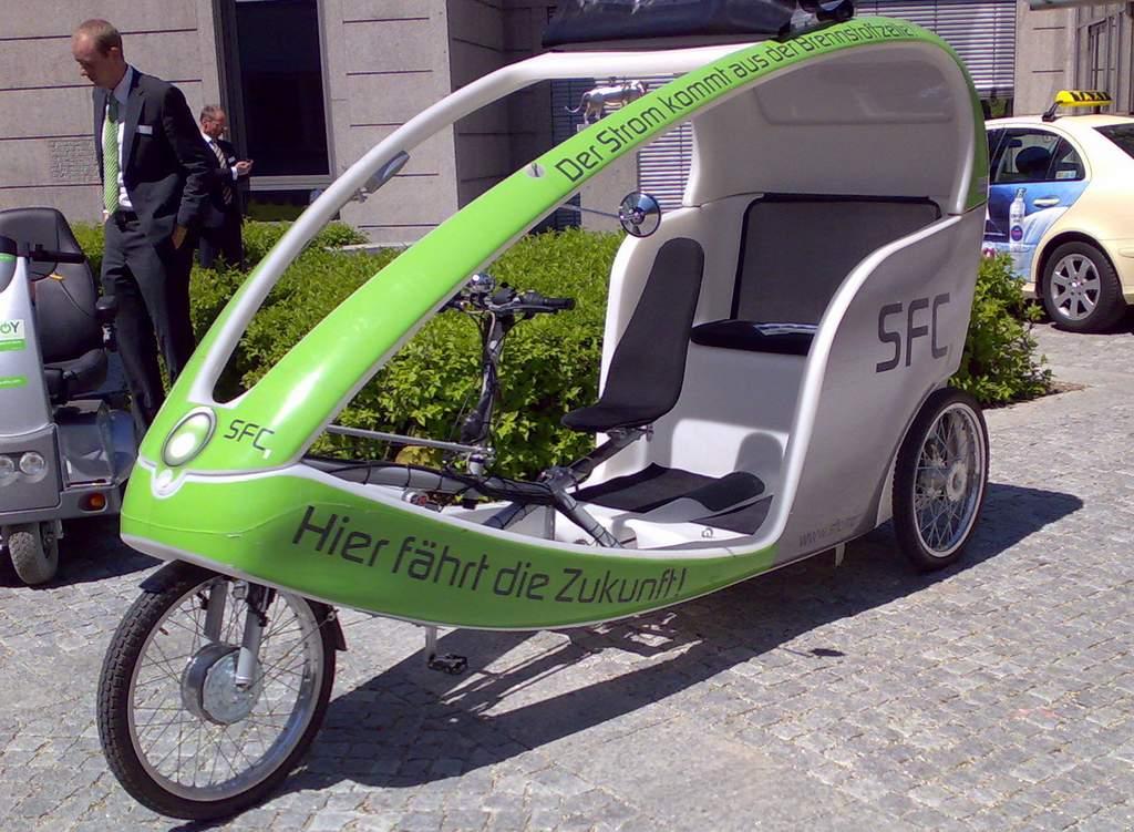 Brennstoffzellenmobil, wahrscheinlich eher eine Randerscheinung