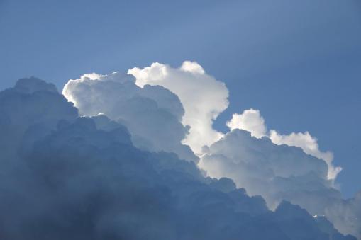 "Bild 2  ""Blumenkohlwolken"" (Cumulus congestus)"
