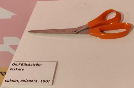 Wussten Sie, dass diese Schere von einem finnischen Designer entwickelt wurde?