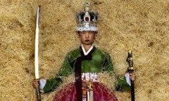 """The Queen of Seoul"" © Jean-Paul Goude"
