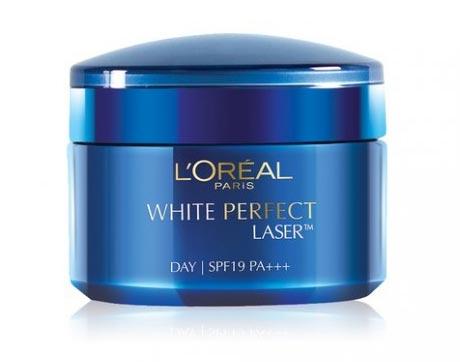 Krim pemutih wajah bagus - L'Oreal Paris White Perfect Laser Day