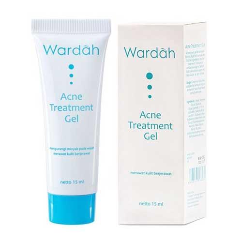Krim penghilang jerawat - Wardah Acne Treatment Gel
