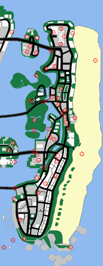 Gta Vice City Hidden Packages Map : hidden, packages, Hidden, Packages