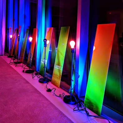 Haiiileen_2018_Diesel_Light_Acrylic_Installation_BTS_SwimWeek_Miami_Basement_TheEdition_Aileen_Quintana